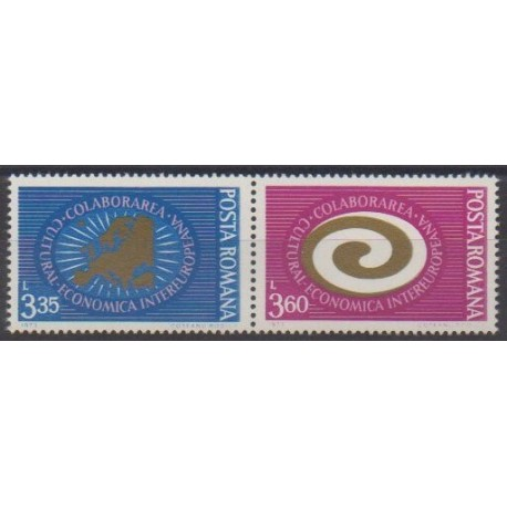 Roumanie - 1973 - No 2755/2756 - Europe