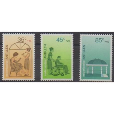 Antilles néerlandaises - 1987 - No 797/799
