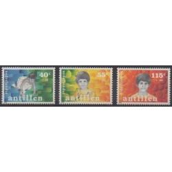 Antilles néerlandaises - 1987 - No 808/810 - Enfance