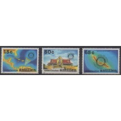 Netherlands Antilles - 1987 - Nb 800/802 - Rotary or Lions club