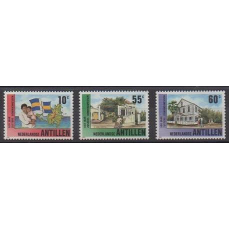Antilles néerlandaises - 1990 - No 870/872