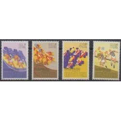 Netherlands Antilles - 1986 - Nb 771/774 - Various sports