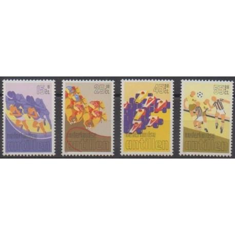 Antilles néerlandaises - 1986 - No 771/774 - Sports divers