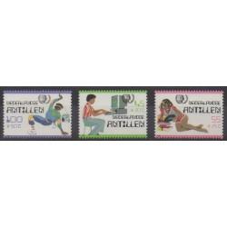 Netherlands Antilles - 1985 - Nb 744/746