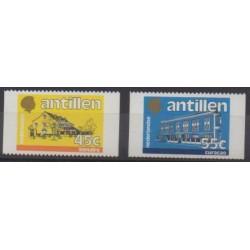 Netherlands Antilles - 1985 - Nb 764/765 - Architecture