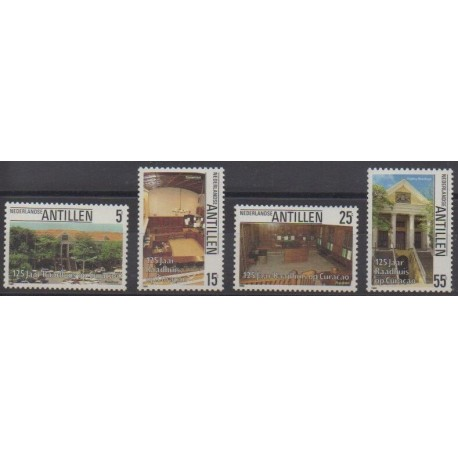 Antilles néerlandaises - 1986 - No 766/769 - Histoire