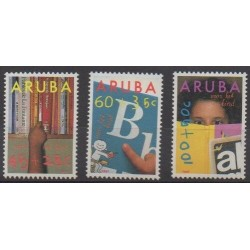Aruba (Netherlands Antilles) - 1991 - Nb 97/99 - Childhood