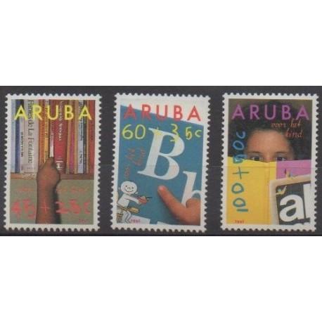 Aruba - 1991 - No 97/99 - Enfance