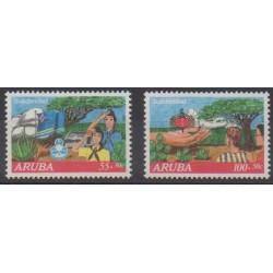 Aruba (Netherlands Antilles) - 1992 - Nb 108/109 - Scouts