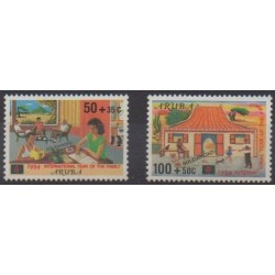 Aruba (Netherlands Antilles) - 1994 - Nb 140/141