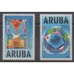 Aruba - 1995 - No 154/155 - Nations unies