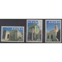 Aruba (Netherlands Antilles) - 1995 - Nb 151/153 - Architecture