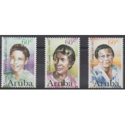 Aruba (Netherlands Antilles) - 1996 - Nb 182/184 - Celebrities