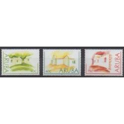 Aruba (Netherlands Antilles) - 2003 - Nb 301/303 - Architecture
