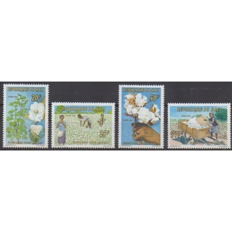Mali - 1996 - No 820/823 - Flore