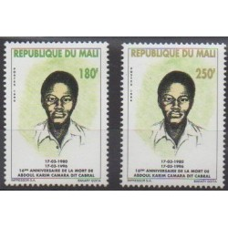 Mali - 1996 - No 817/818 - Célébrités