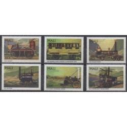 Mali - 1996 - No 922/927 - Chemins de fer