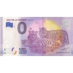 Euro banknote memory - 13 - Zoo de la Barben - 2020-1 - Nb 64