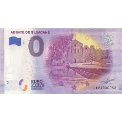 Euro banknote memory - 13 - Abbaye de Silvacane - 2020-1 - Nb 56