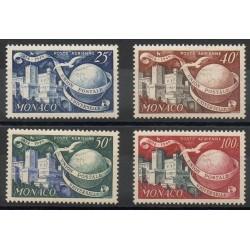 Monaco - Poste aérienne - 1949 - No PA45/PA48