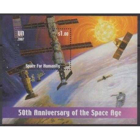 Nations Unies (ONU - New-York) - 2007 - No BF25 - Espace