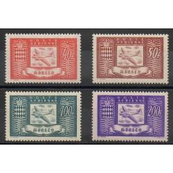 Monaco - Poste aérienne - 1946 - No PA15/PA18
