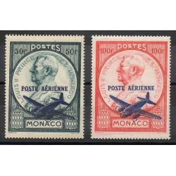 Monaco - Poste aérienne - 1946 - No PA13/PA14