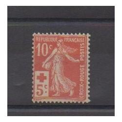 France - Poste - 1914 - No 147 - Neuf avec charnière