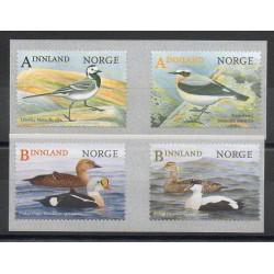 Norvège - 2015- No 1833/1836 - Oiseaux