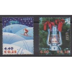 Estonie - 2006 - No 533/534 - Noël