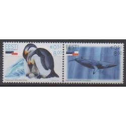 Estonie - 2006 - No 531/532 - Mammifères - Polaire