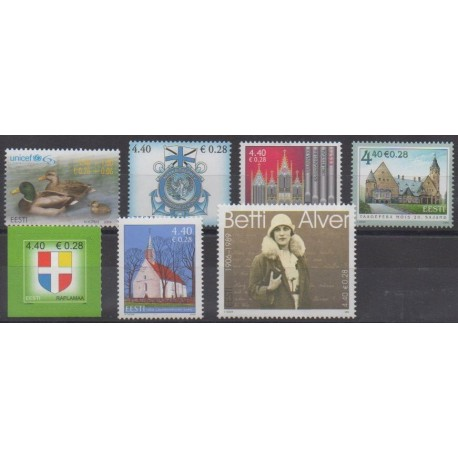 Estonie - 2006 - No 524/530