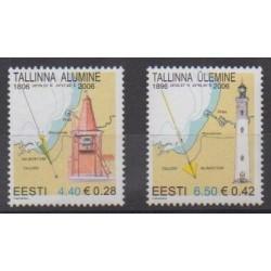 Estonie - 2006 - No 517/518 - Phares