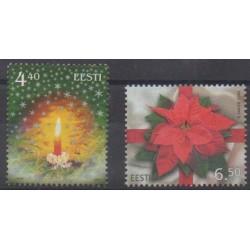 Estonia - 2004 - Nb 478/479 - Christmas