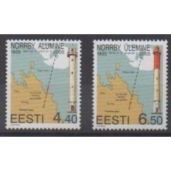 Estonia - 2005 - Nb 480/481 - Lighthouses