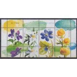 Estonia - 2004 - Nb 459/462 - Flowers