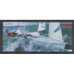 Estonia - 2004 - Nb 466 - Boats - Europa - Various sports