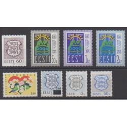 Estonia - 1993 - Nb 212/219