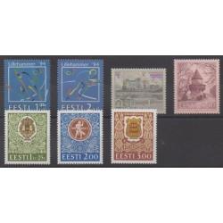 Estonia - 1994 - Nb 234/240