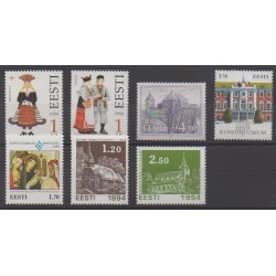 Estonia - 1994 - Nb 247/253