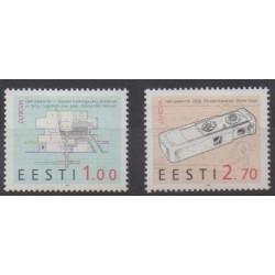 Estonia - 1994 - Nb 245/246 - Science - Europa