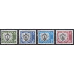 Saudi Arabia - 1986 - Nb 662/665