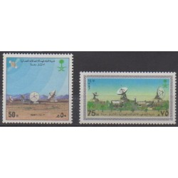 Saudi Arabia - 1987 - Nb 681/682 - Telecommunications