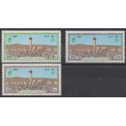 Arabie saoudite - 1987 - No 685/687 - Religion
