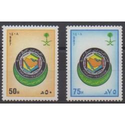 Saudi Arabia - 1987 - Nb 704/705