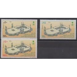 Saudi Arabia - 1989 - Nb 747/749 - Monuments
