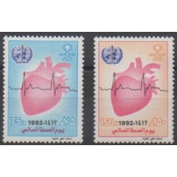 Saudi Arabia - 1992 - Nb 912/913 - Health