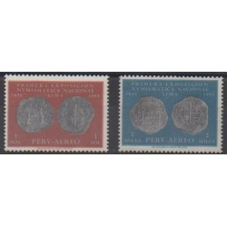 Peru - 1961 - Nb PA160/PA161 - Coins, Banknotes Or Medals