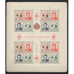 Monaco - Blocs et feuillets - 1949 - No BF 3A - neuf avec charnière
