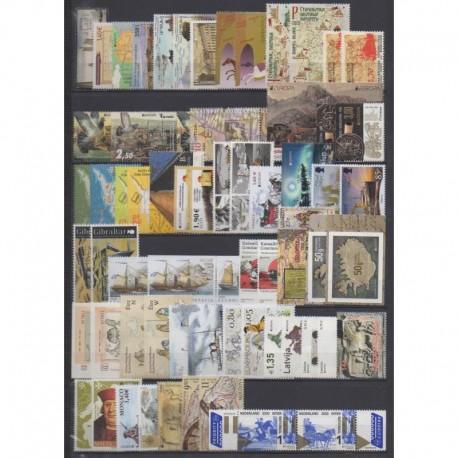 Europa - 2020 - 116 valeurs - 25BF - 62 pays - Service postal